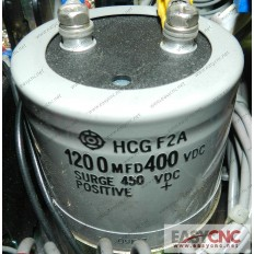 1200MFD 400VDC FANUC  Capacitor  used
