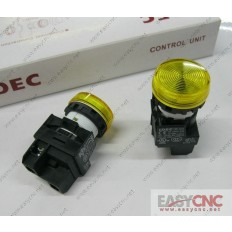 YW1P-1EQ0Y YW-EQ IDEC control unit switch yellow new and original