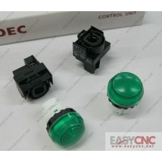 YW1P-2EQ0G YW-EQ IDEC control unit switch green new and original