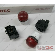 YW1P-2EQ0R YW-EQ IDEC control unit switch red new and original