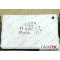 A40L-0001-0459#0.6ohmJX3 Fanuc resistor 0459 0.6ohmJX3 used