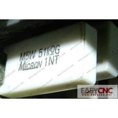 A40L-0001-M5W#51KohmG Fanuc resistor M5W 51KohmG used