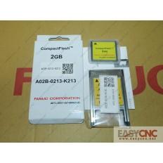 A02B-0213-K213 A87L-0001-0215#002GB Fanuc CF card and PC Card adapter A02B-0236-K150 A63L-0002-0024 new and original