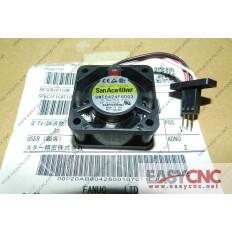A90L-0001-0507#A  9WF0424F6D03 SANYO FAN  WITH FANUC  BLACK CONNECTORS